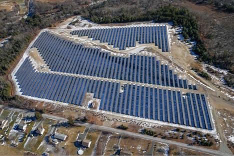 Palmer Airfield, MA Solar Project 2